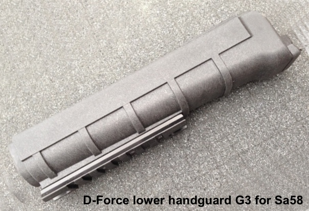 Podpažbie D-Force G3 + rail